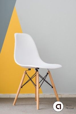 Sillas Eames pack X4. Blanco o Negro