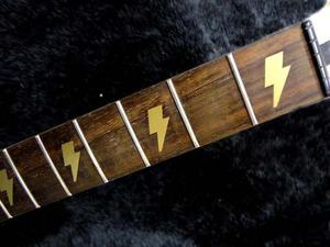 Stickers Vinil Guitarra Sg Angus Young Ac Dc Rayos Inlays *