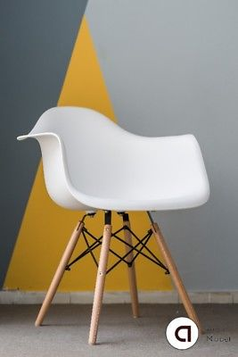 sillones eames PACK X4. Blanco o Negro