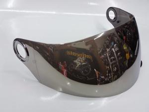 Mica Shaft Humo, Espejo, Iridium Cerrado-abatible Rider One
