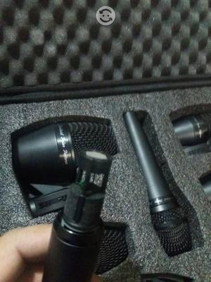 shure pga drum kit 5 mics de bateria nuevo envio posot class. Black Bedroom Furniture Sets. Home Design Ideas