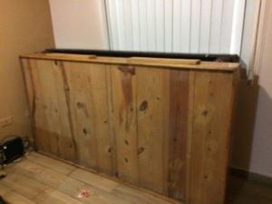 Base de madera individual