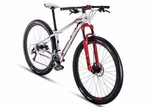 Bicicleta Alubike Mtb Xta Exp R-v. Bco-c/ngo-rjo T-17