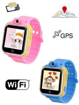 Smart Watch Reloj Celular Gps Wifi Infantil Niños Sim Card