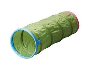 Túnel para jugar Marca: IKEA color verde 145x46 cm