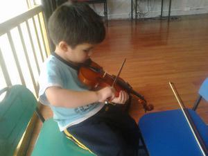 Clases de violín y música