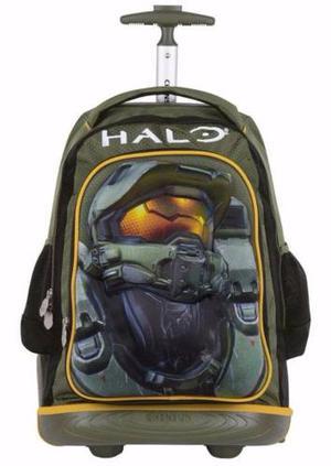 Mochila Ruedas Escolar Primaria Chenson Halo 3d Envio Gratis