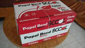 Papel Bond Blanco