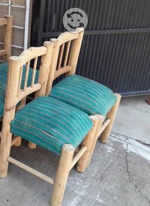 Par de sillas pino