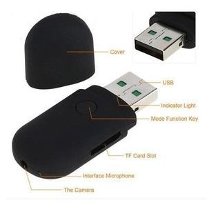 U-DISK cámara escondida USB CAM Mini DV DVR portátil Video