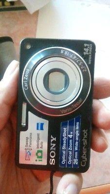 Cámara Sony digital compacta W350, lente CARL ZEIS