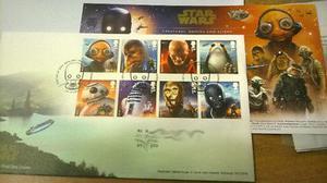 Estampillas Postales – Star Wars – Royal Mail,