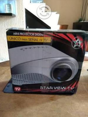Proyector estar view nuevo en su caja