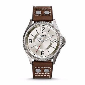 Reloj Fossil Caballero Plateado Nuevo (fs)