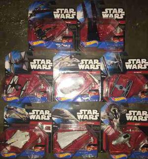 Set 8 Naves Star Wars Hot Wheels Nuevas Selladas Envio Grati