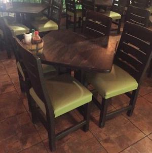 Vendo 30 juegos de mesas y sillas