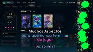 Champions League Of Legends Platino 5 Completa