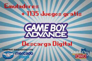Emulador Gameboy Advance + Regalo  Juegos