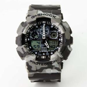 Reloj Casio G Shock Gris Camuflajeado