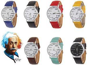 Reloj Retro Matemáticas Vintage 7 Colores Diferentes
