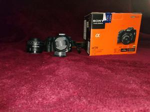 cámara reflex digital Sony