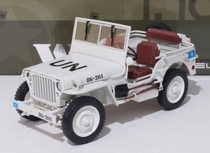 Jeep Willy's De La Onu Escala 1:18 Welly