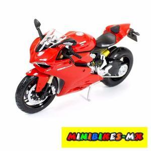 Moto De Colección Ducati Panigale  Escala 1:12 Maisto