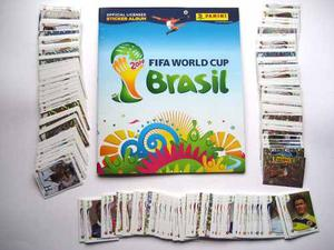 Estampas Mundial Brasil  Panini 100% Originales