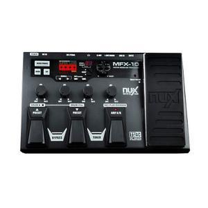 Pedalera Multiefectos Nux Mfx-10 !! Envió Gratis ¡¡