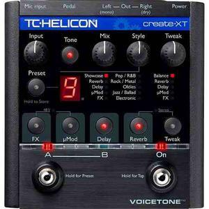 Tc Helicon Procesador De Efectos Voicetone Create Xt Voz