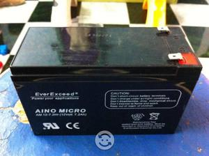 Bateria seca de 12 volts 7.2 ampers