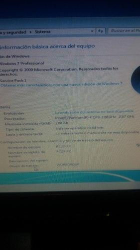 Cpu Pentium 4 Sin Disco Duro 1gb Ram