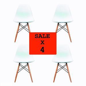 Set De 4 Sillas Eames - Promoción!