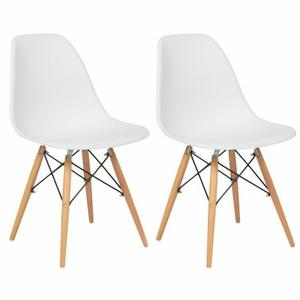 Silla Eames Blanca Y Negra 2 Pack By Arei Design!!