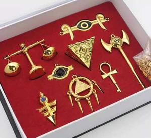 Yugioh Artículos Del Milenio 8pzs Oro Nuevo!!!. Envío