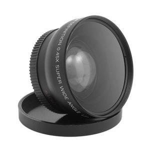 Lente 2 En 1 Gran Angular Y Macro 55mm P/ Sony Pentax.45x