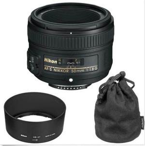Nikon Lente Af-s Dx Nikkor 50mm F/1.8g, Envio Gratis!