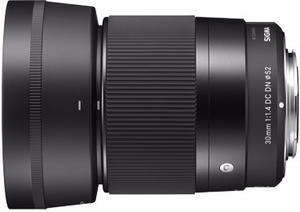 Sigma Lente 30mm F1.4 Dc Dn Contemporary / Sony E