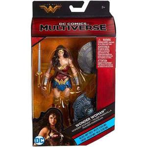 Dc Multiverse Wonder Woman 2 Escudos Exclusiva Toys