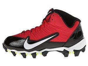 Nike Alpha Shark 3/4 Football, Rojo Con Negro Niño O Niña