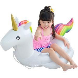 Salvavidas Inflable En Forma De Unicornio Para Niño W