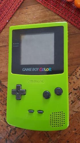 Game Boy Color Con Eliminador Sin Tapa De Pilas Envío