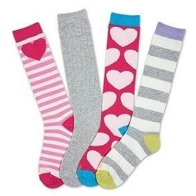 Calcetas Para Niña High Socks 1 Par K.bell