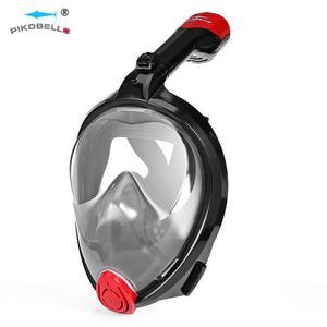 Pikobello Anti-niebla Seco Snorkel Máscara De Cara Completa