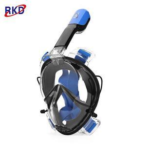 Rkd Anti-niebla Desmontable Seco Snorkel Máscara De Cara Co