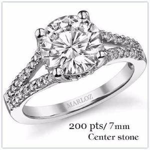 Anillo Compromiso 18kt 150ct Diamante Forever Brilliant