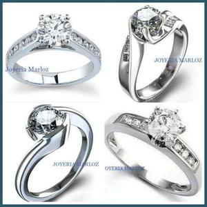 Anillos Diamante Forever Brilliant.40ct 4.5mm En 14kt