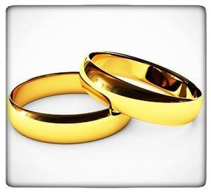 Argollas De Matrimonio Lisas En Oro Blanco O Amarillo 18k