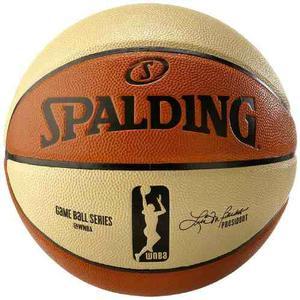 Balon Basquetbol Spalding Wnba Indoor/outdoor Pu #6