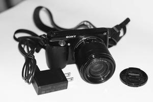 Cámara Sony Nex F3 Con Lente  Mm, Batería Y Cargador